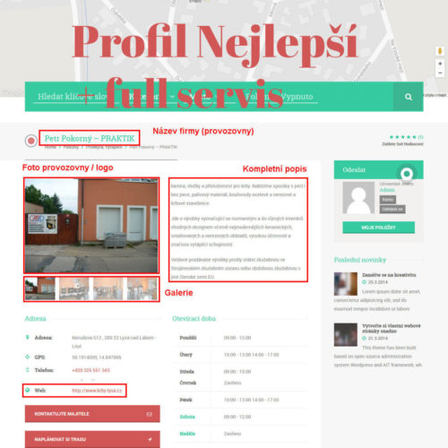 obr. Profil Nejlepší + full servis