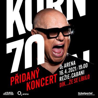 JIŘÍ KORN 70 – Přidaný koncert