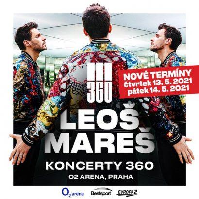 LEOŠ MAREŠ Koncerty 360 v novém termínu