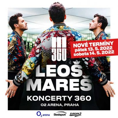 LEOŠ MAREŠ Koncerty 360 v novém termínu 2022