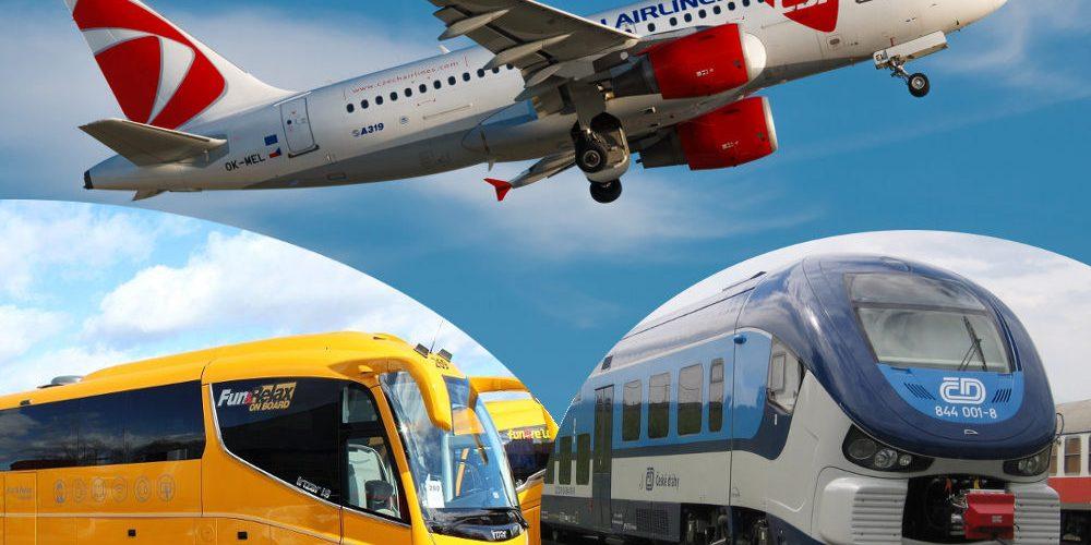 Podívejte se, kam do zahraničí už můžete z Česka vyrazit letadlem, vlakem, autobusem
