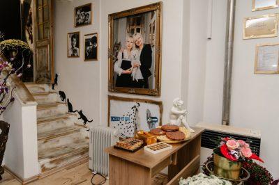 Interiér salonu pro zvířata v ulici Vrchlického, Praha 5