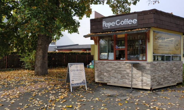 Pepe Coffee – stánek