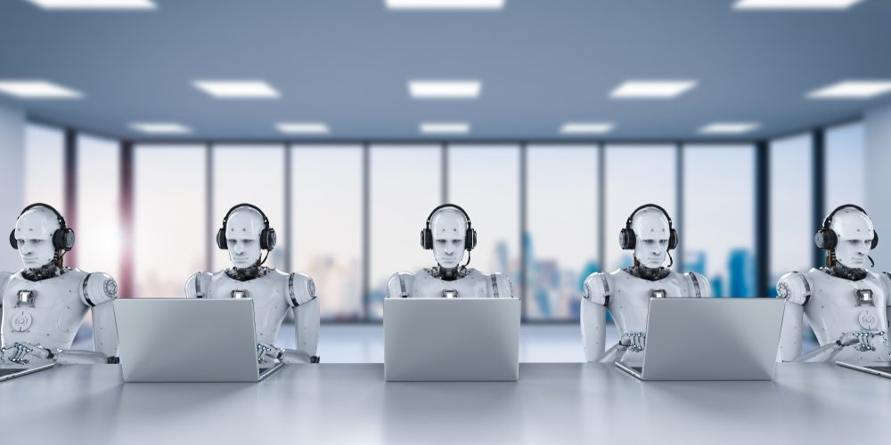 Ze zákaznické podpory kvůli umělé inteligenci zmizí lidé